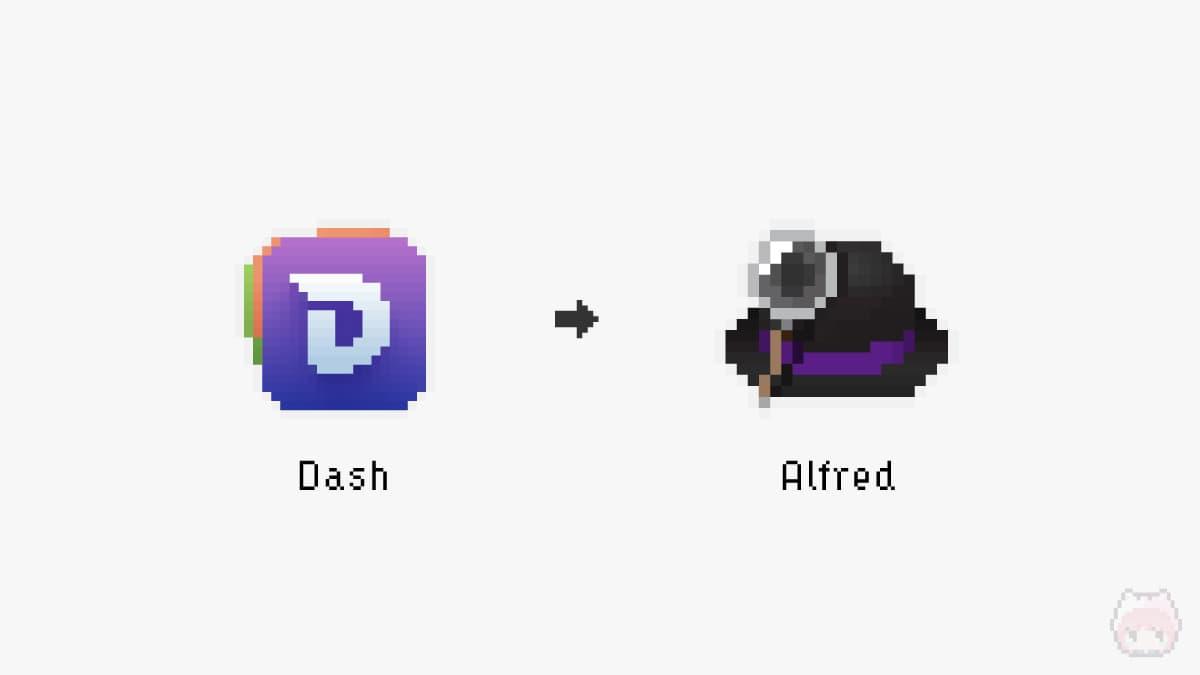 Dash → Alfred