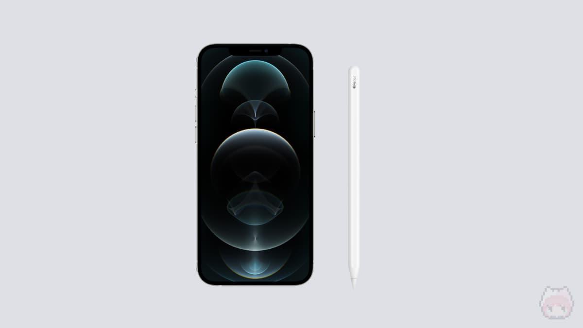 iPhone 12 Pro・Apple Pencil