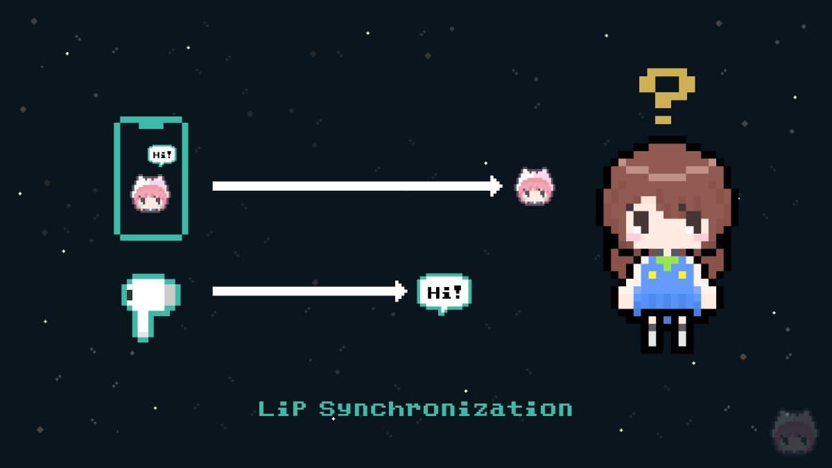 リップシンク(Lip Synchronization)