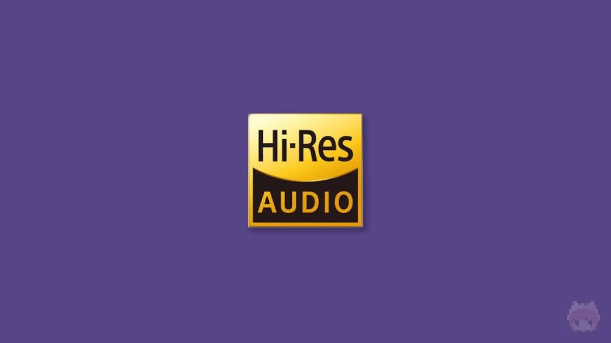 Hi-Res Audioロゴ