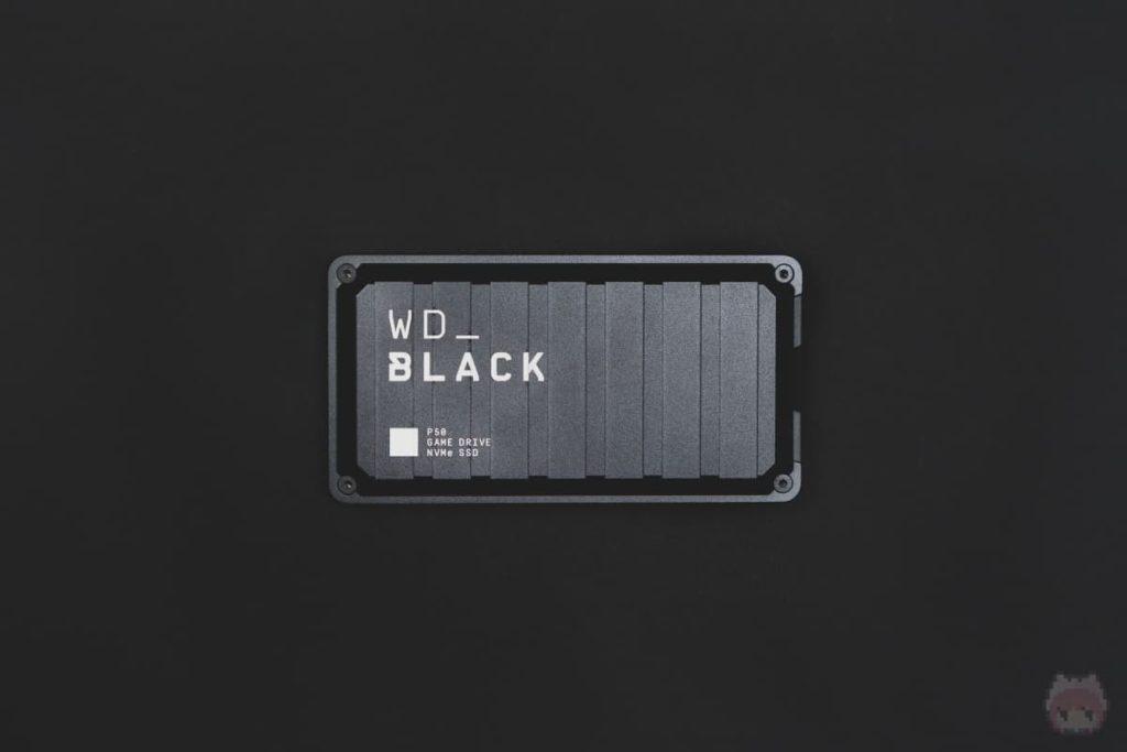 WD_BLACK P50 Game Drive SSD(上面)