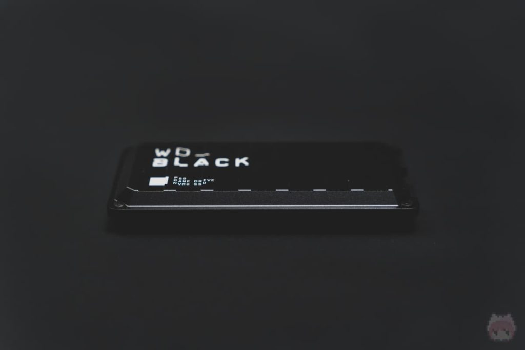 WD_BLACK P50 Game Drive SSD(前面)