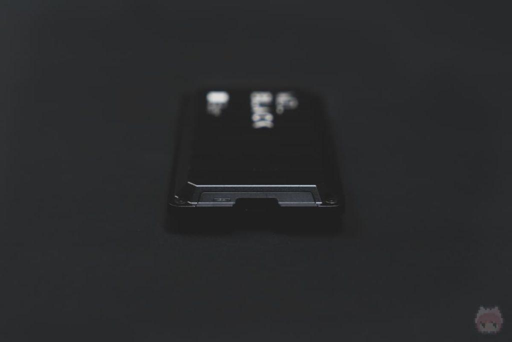 WD_BLACK P50 Game Drive SSD(右面)