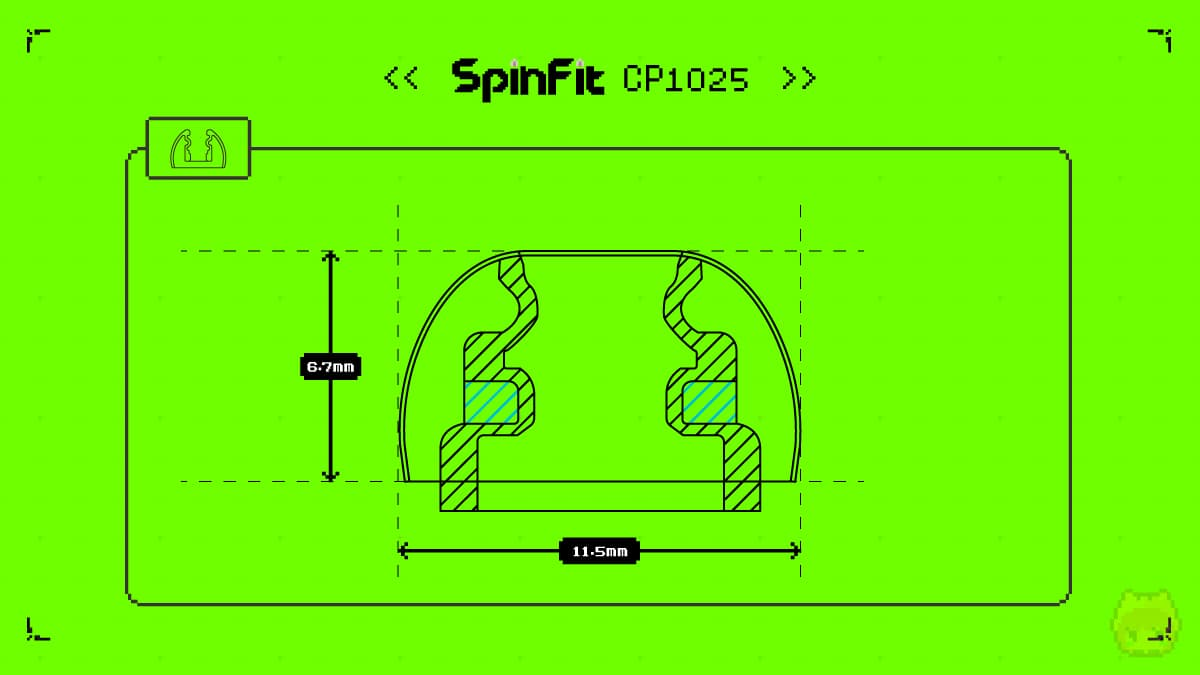 SpinFit CP1025
