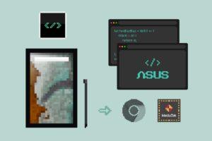 『ASUS Chromebook Detachable CM3』を開発&お絵描きタブとしてポチった話