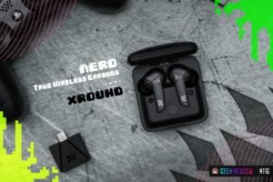 【レビュー】XROUND AERO True Wireless Earbuds:超低遅延のゲーミングワイヤレスイヤホン[PR]