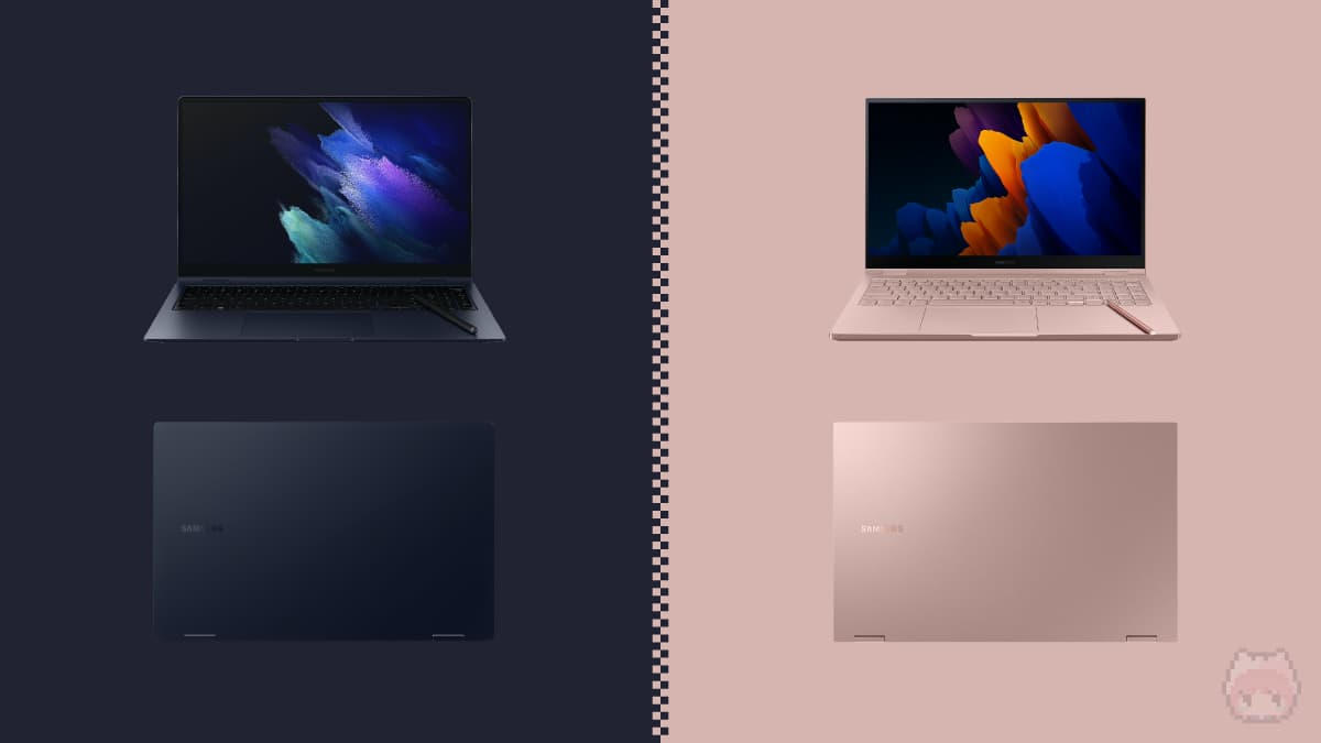 Galaxy Book Pro 360 & Galaxy Book Flex2