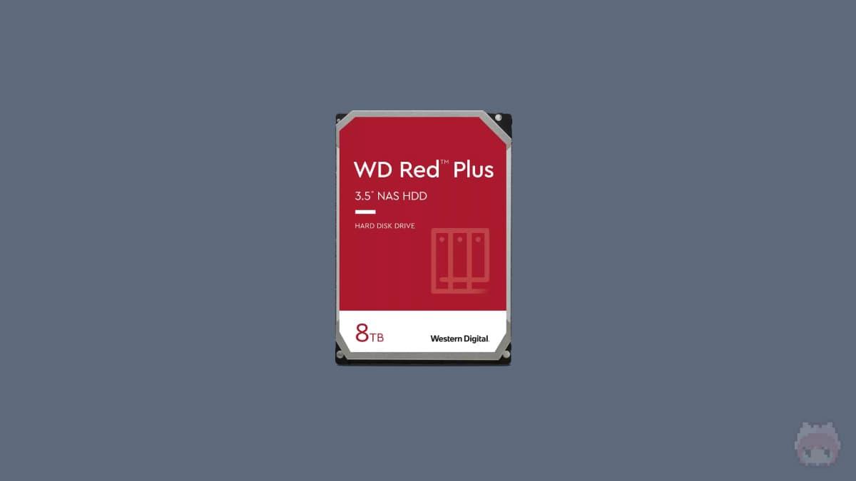 "Western Digital WD Red Plus NAS Hard Drive 3.5""(8TB)"