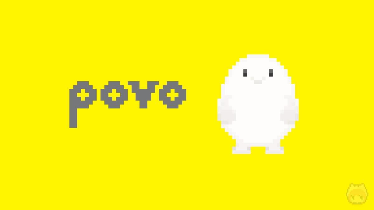 povoと公式キャラクターのドット絵