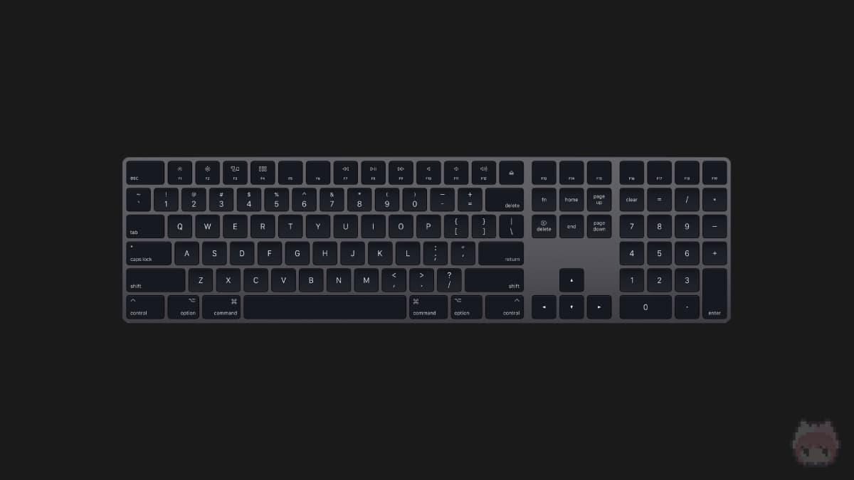 Magic Keyboard(テンキー付き)