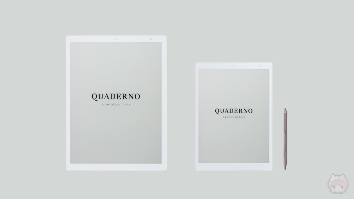 新型QUADERNO (Gen.2)