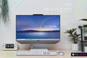 【レビュー】ASUS Zen AiO 24 A5401W:女性に薦めたい北欧デザインの一体型PC[PR]