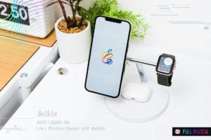 【レビュー】Belkin BOOST↑CHARGE PRO 3-in-1 Wireless Charger with MagSafe:Apple信者用ワイヤレス充電器