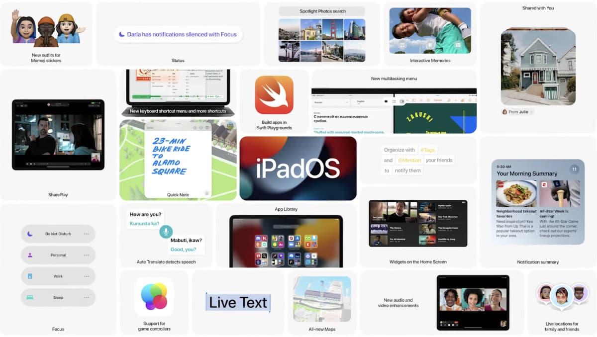 iPadOS 15 - WWDC21