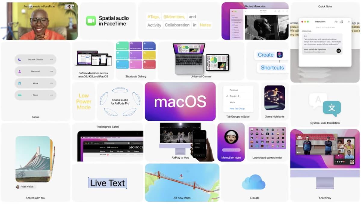 macOS Monterey - WWDC21
