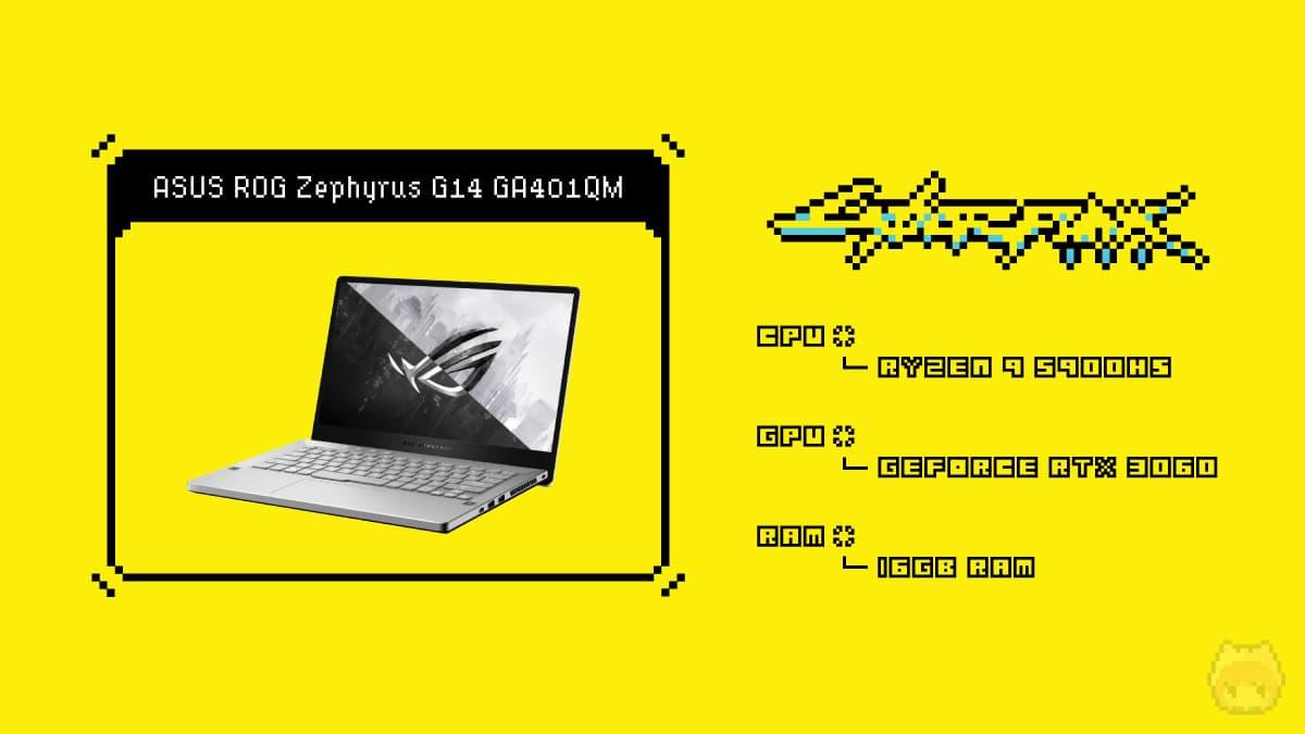 ASUS ROG Zephyrus G14 GA401QM