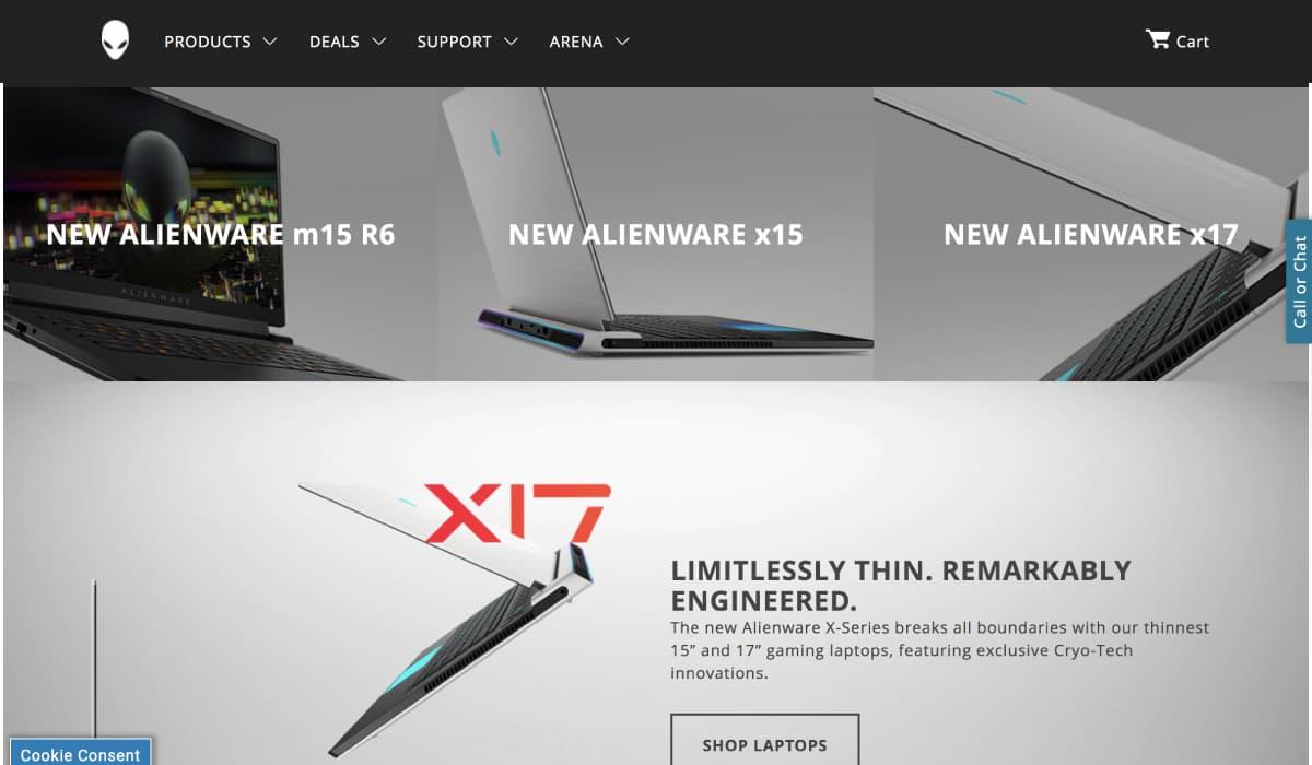 Dell(Alienware)