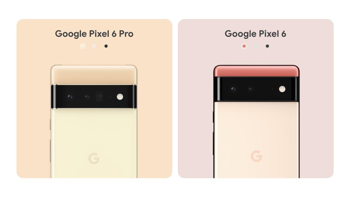 Google Pixel 6・Google Pixel 6 Pro
