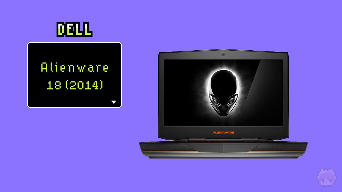 Dell Alienware 18(2014)