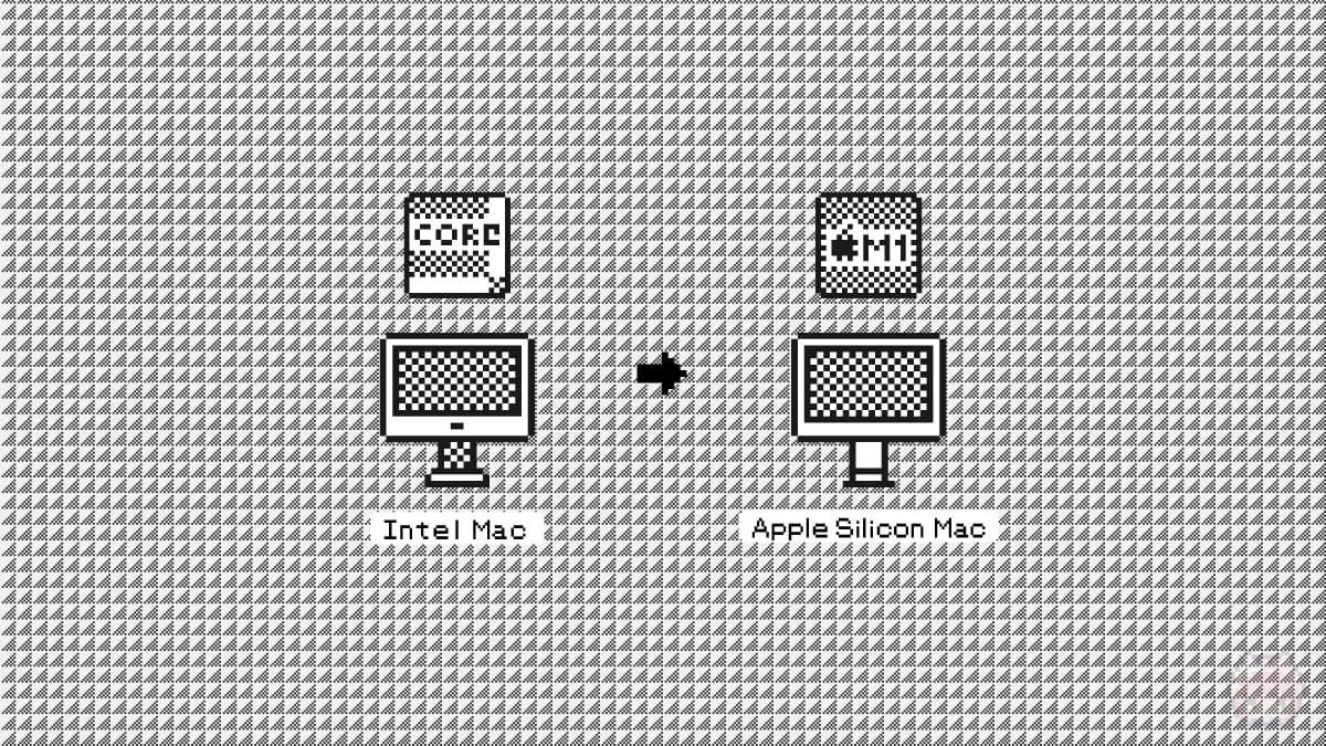 Intel Mac → Apple Silicon Mac を完了