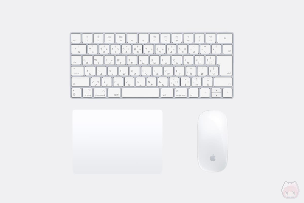 Magic Keyboard 2・Magic Mouse 2・Magic Trackpad 2
