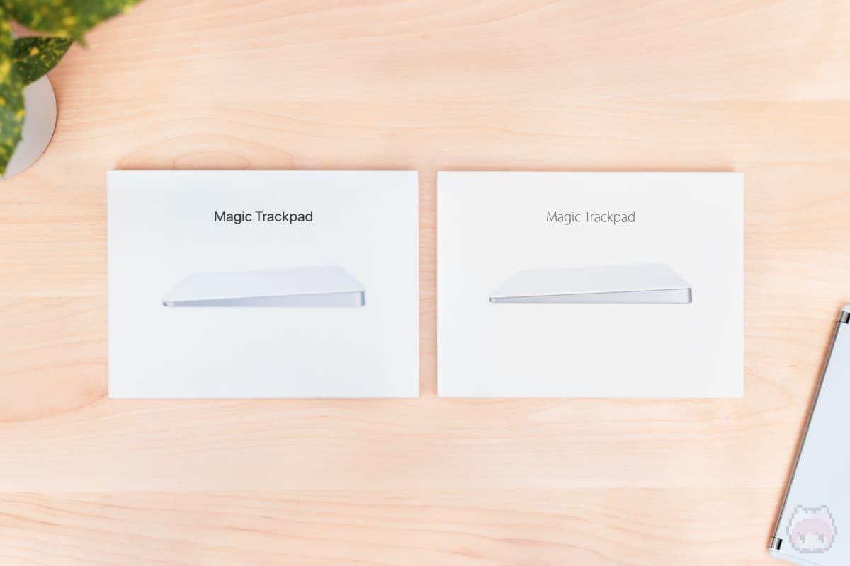 Magic Trackpad 3 vs Magic Trackpad 2