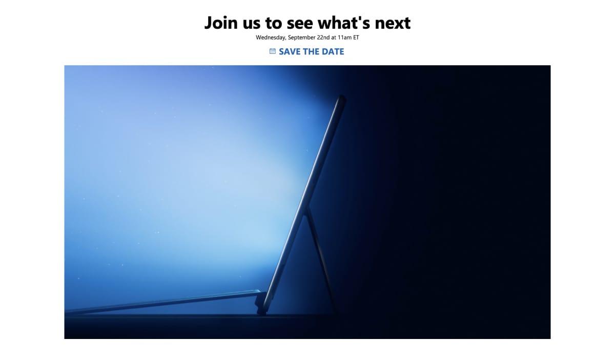 Microsoft Event September 2021