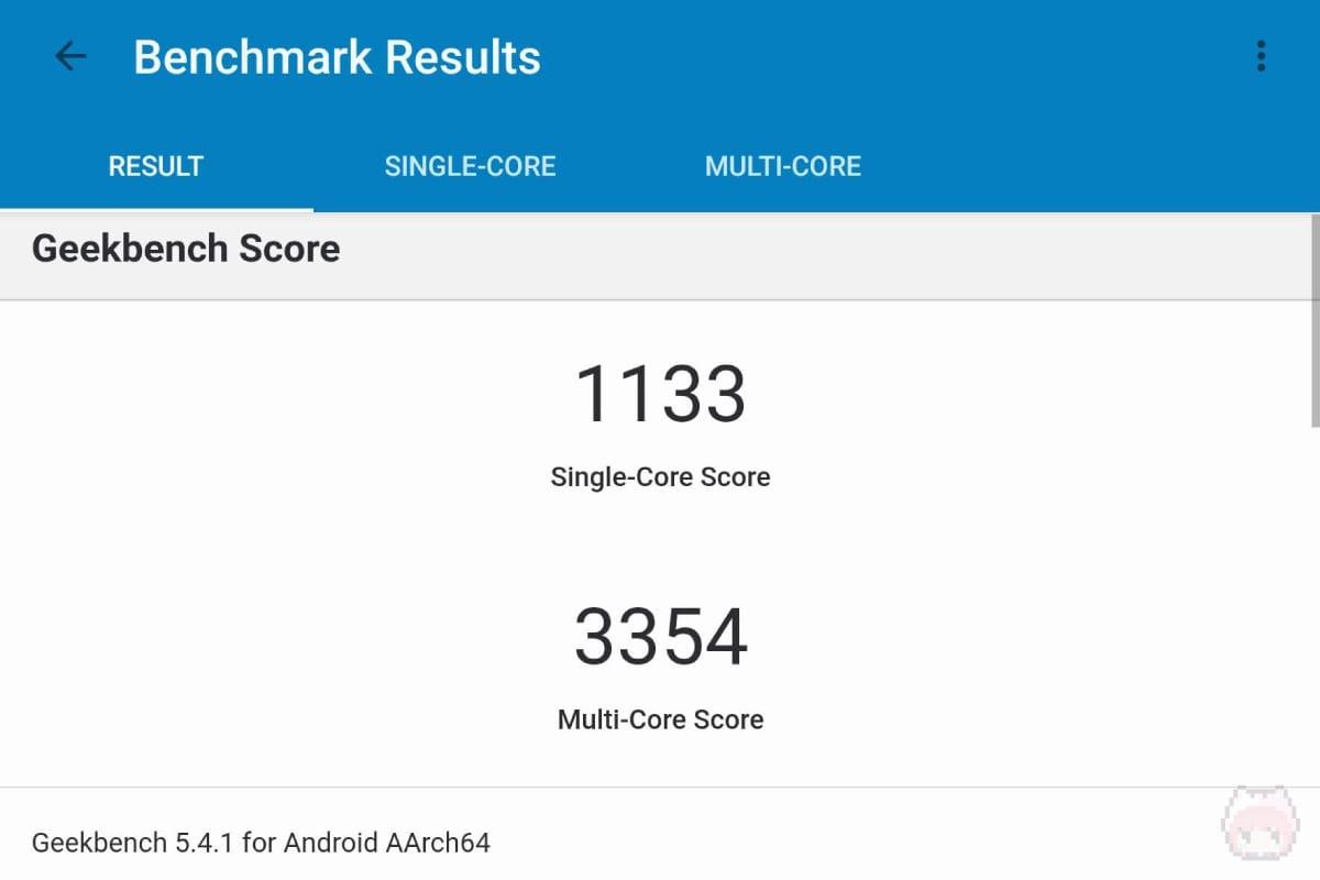 Galaxy Z Fold3 5Gのベンチマーク結果