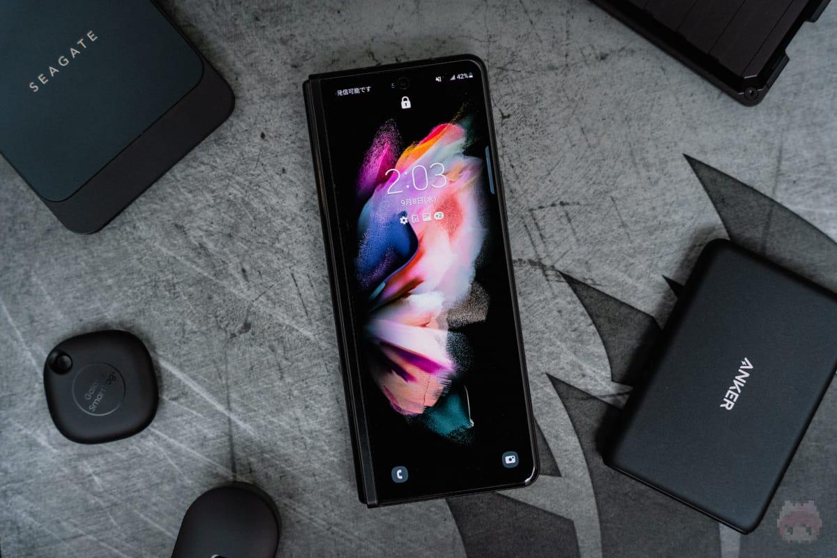 Galaxy Z Fold3 5Gの到着