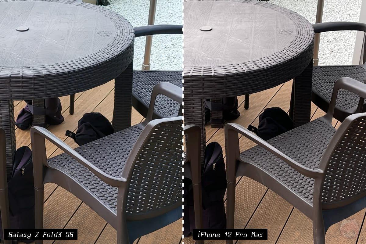 Galaxy Z Fold3 5Gのカメラテスト