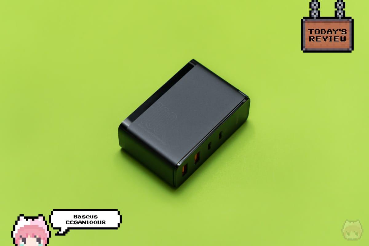GaN2 Pro Quick Charger 2C+2U 100W《CCGAN100US》 - Baseus