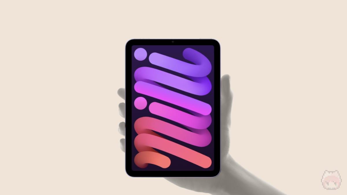 iPad mini 6のゼリースクロール現象